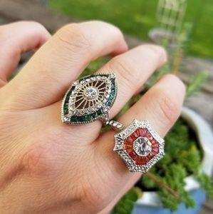 Art Deco Style Rings